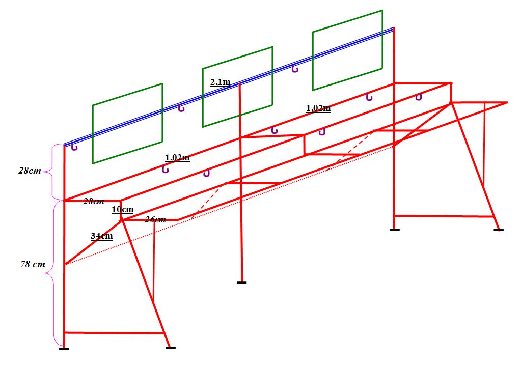 kích thước bàn phòng net tiêu chuẩn
