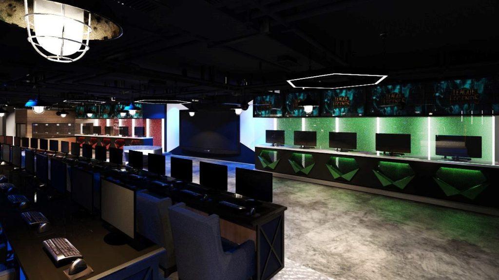 Thiết kế phòng net cyber game