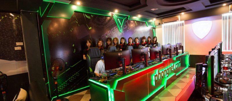 Phongnet.com đơn vị lắp đặt phòng game uy tín tại Phú Thọ
