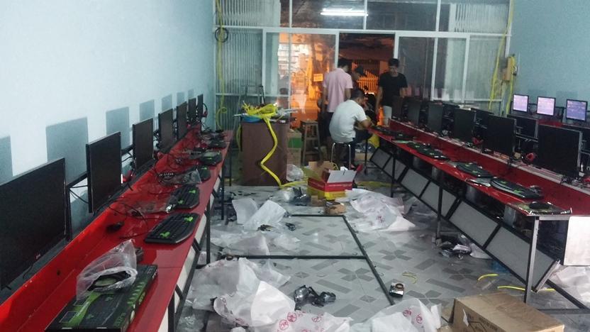 Tư vấn mở phòng net 30 máy tại T.P Hồ Chí Minh