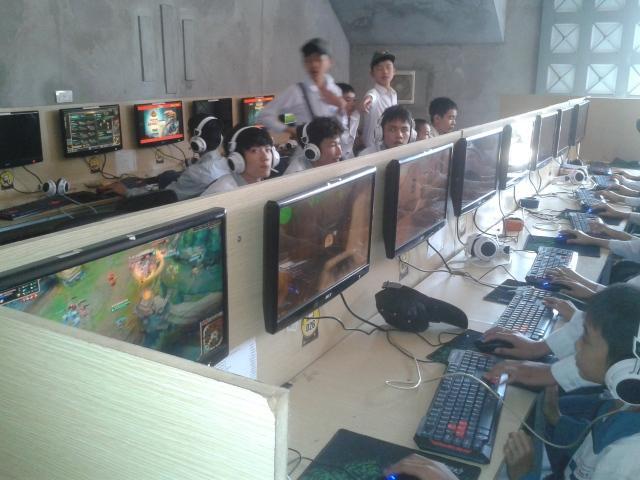 Thanh lý phòng net tại Hà Nội
