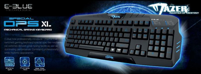 Keyboard E-Blue Mazer XL EKM088