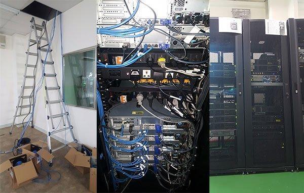 Bảo trì hệ thống mạng bootrom, internet.