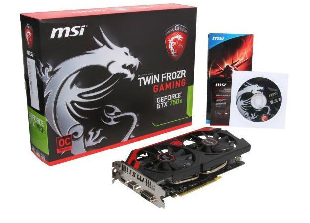 Vga MSI Geforce GTX 750Ti Gaming