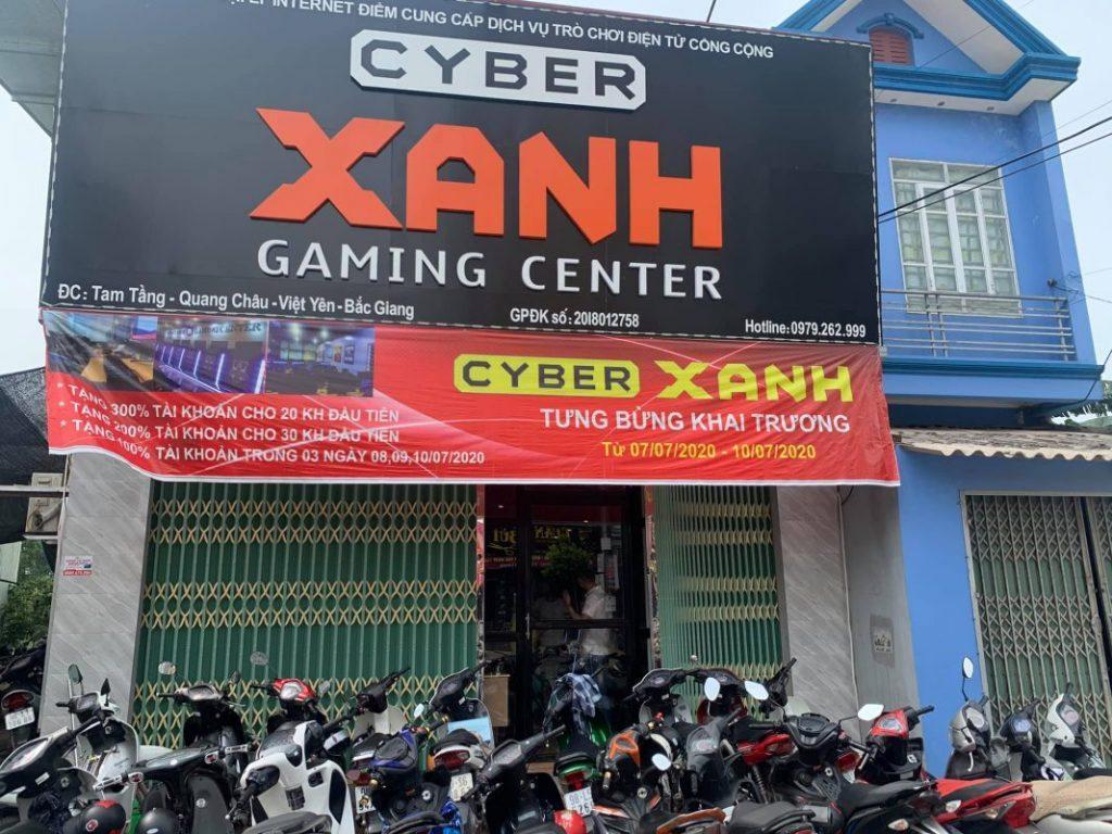 Cyber Xanh - Hệ thống Cyber Game Mini đầu tiên tại Việt Nam