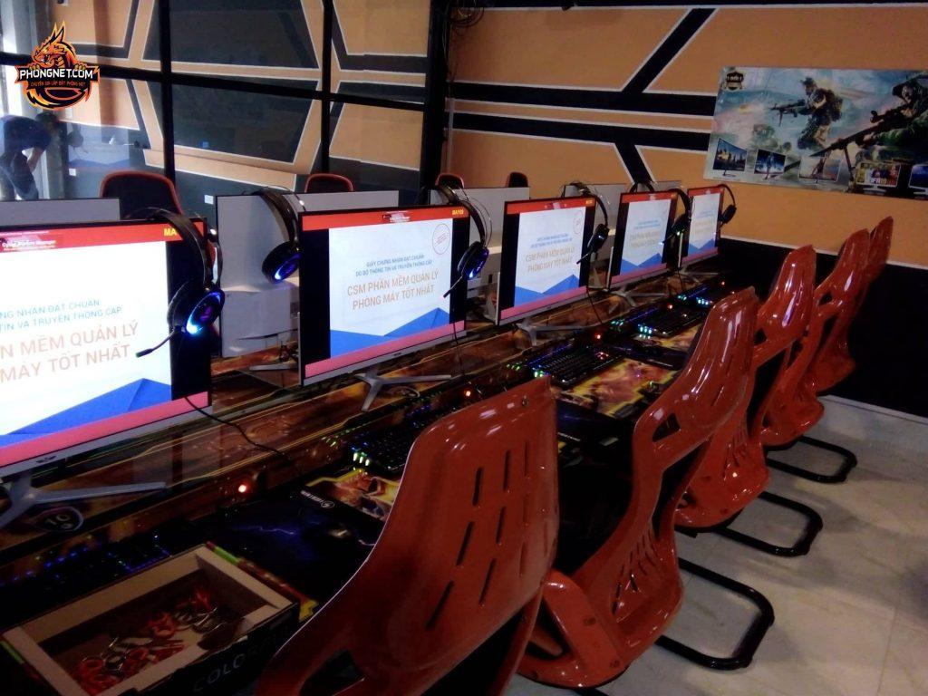 Dự án tại Cyber Mini 25 PC tại Đồng Tâm 1