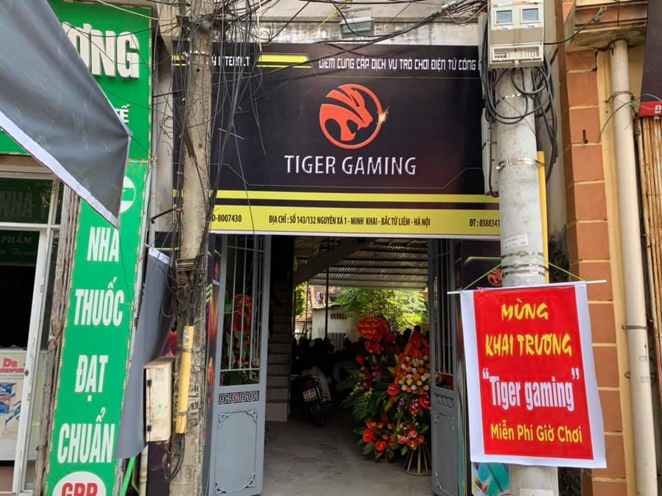 Địa chỉ Tiger Gaming Center