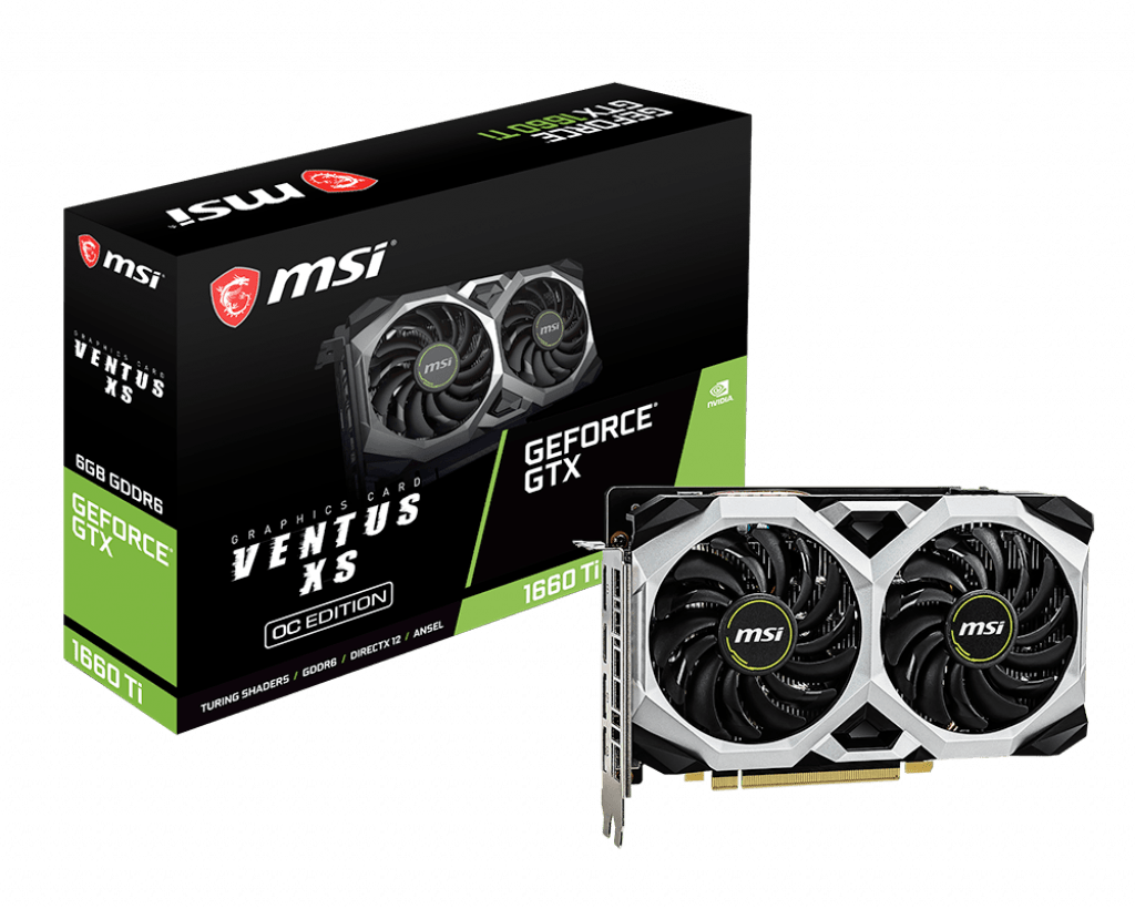 vidia GeForce GTX 1660ti 6GB
