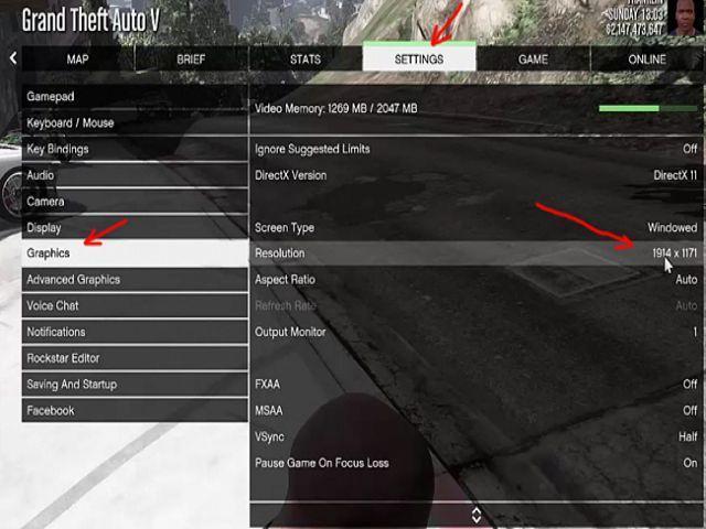 Hướng Setting GTA 5 cho máy cấu hình thấp