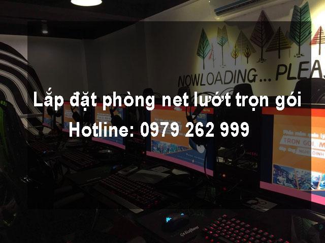 Lắp đặt phòng net lướt tại Phongnet.com