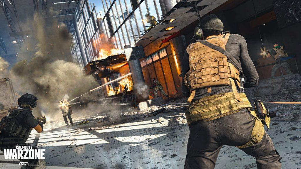 Cấu hình chơi Call of Duty: Warzon