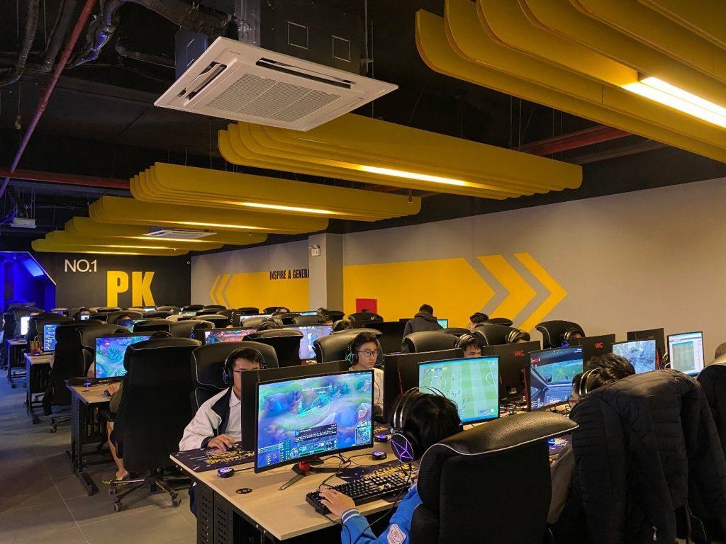 PK Gaming Center ngoại giao đoàn 1