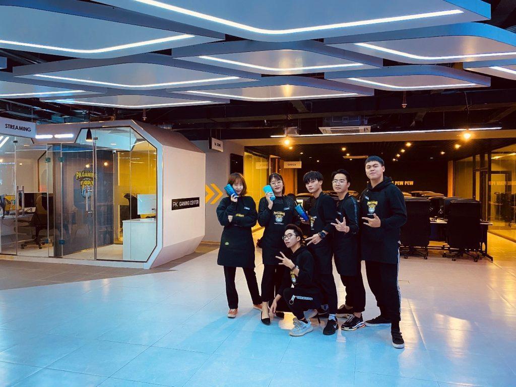 PK Gaming Center ngoại giao đoàn 9