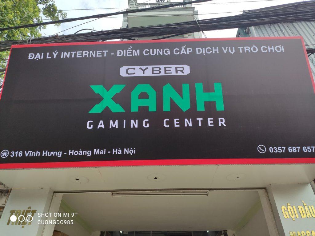 dự án Cyber Xanh Hoàng Mai, Hà Nội