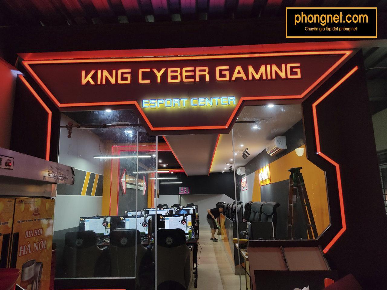dự án King Cyber Game Center