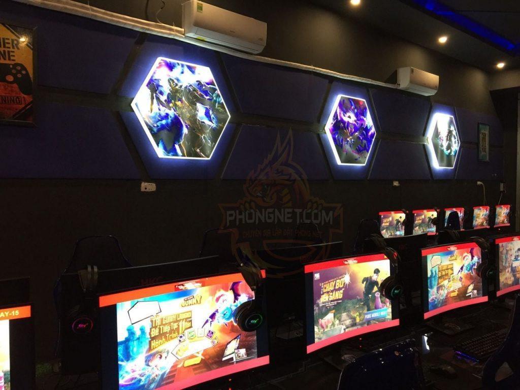 dự án Blue Gaming Center